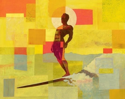Surf art: artists atop the waves