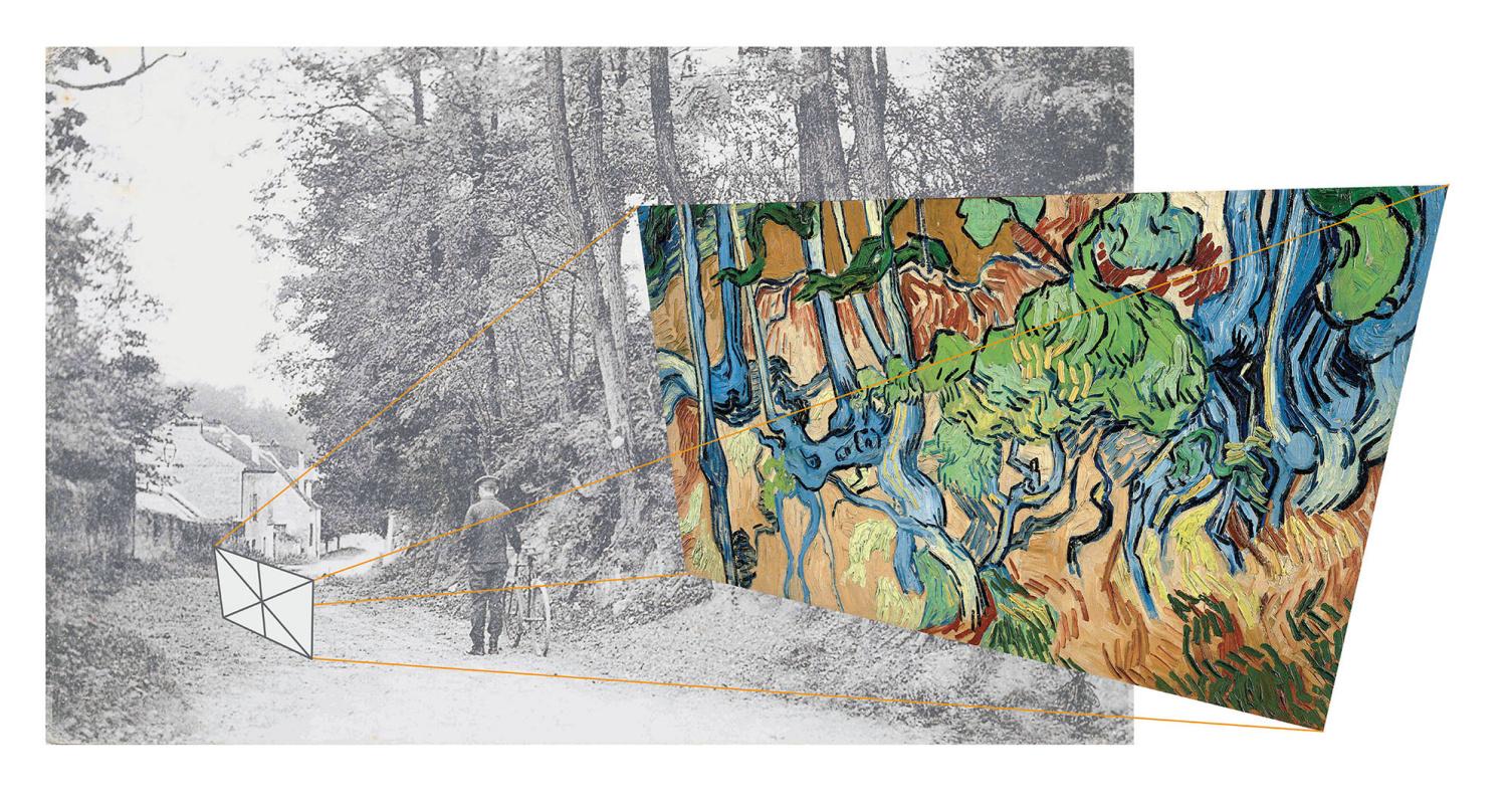 Точное местоположение, где Винсент Ван Гог написал свою последнюю работу «Корни деревьев», определил