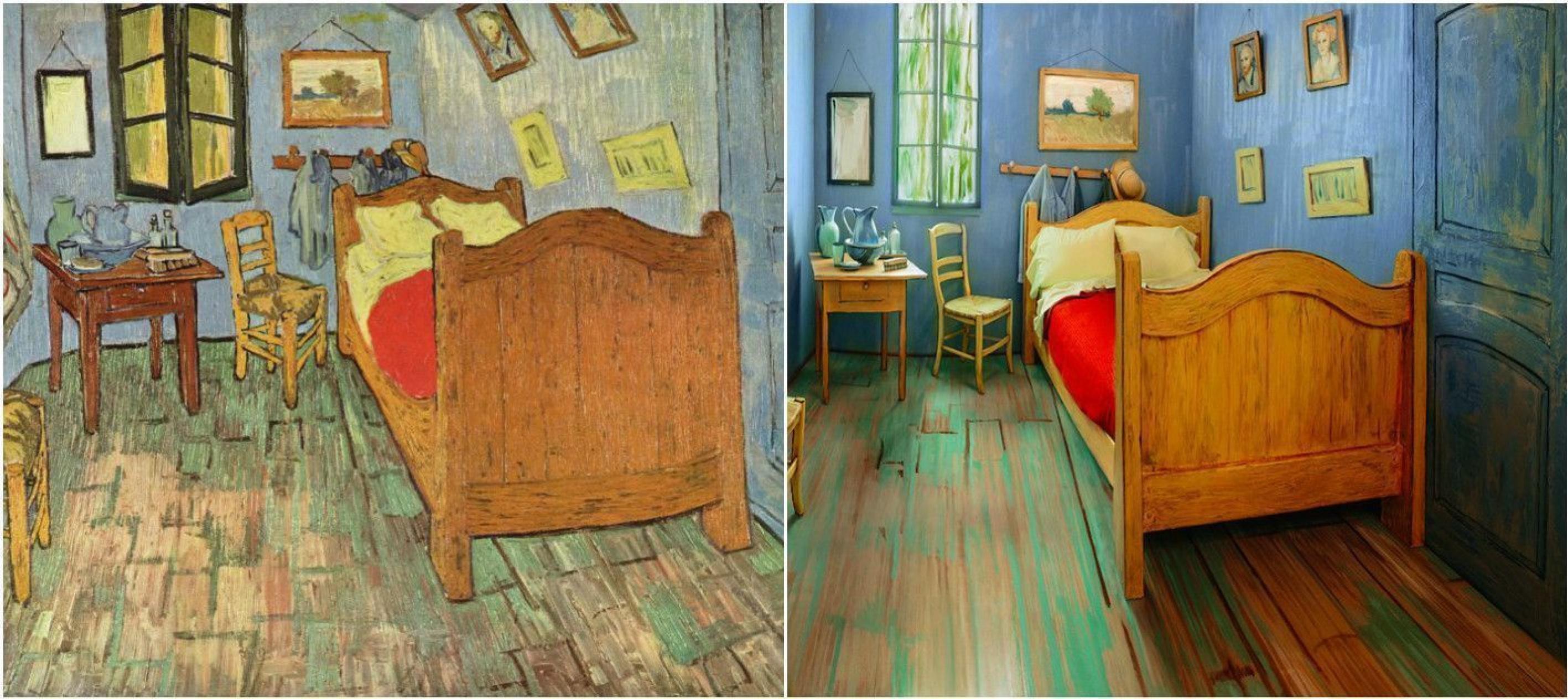 В Чикаго воссоздана спальня Ван Гога, в которой можно пожить