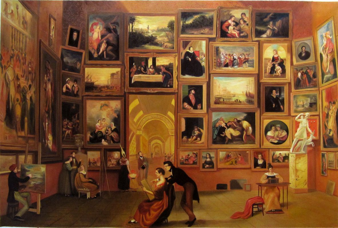 Азбука искусства Морзе: вид Лувра гастролирует по США