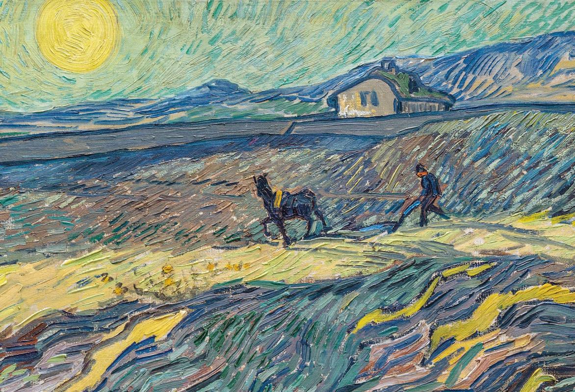 Пейзаж Ван Гога продан за 81,3 млн долларов – вторая самая дорогая картина художника