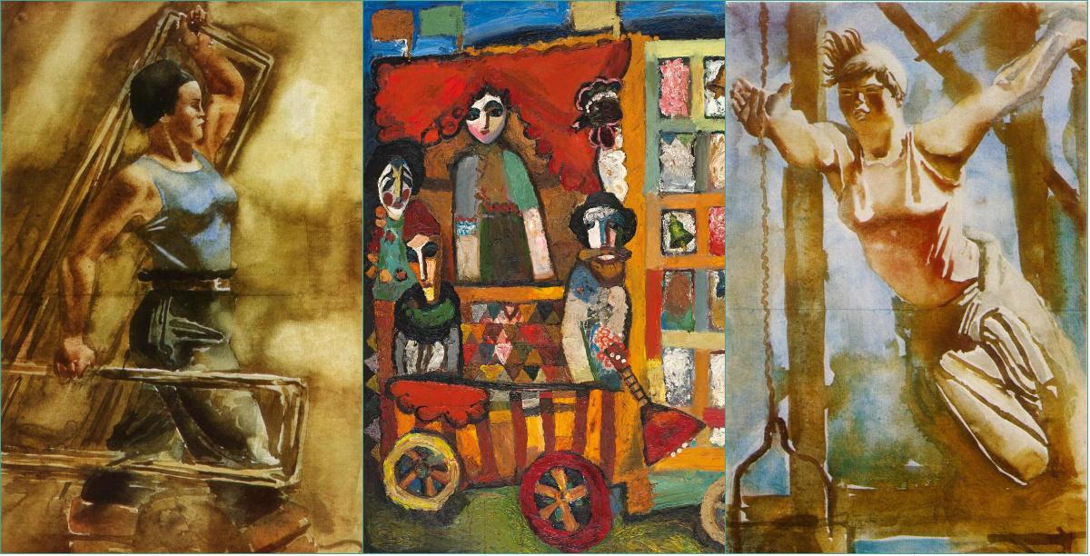 Советская эротика и украиский экспрессионизм! Всесоюзная слава и забвение - две судьбы одной эпохи в Русском музее Санкт-Петербурга