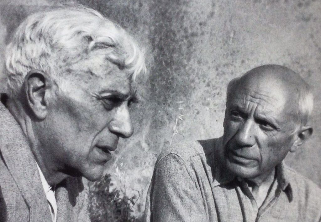 georges braque and pablo picasso a cubist song of ice and flame