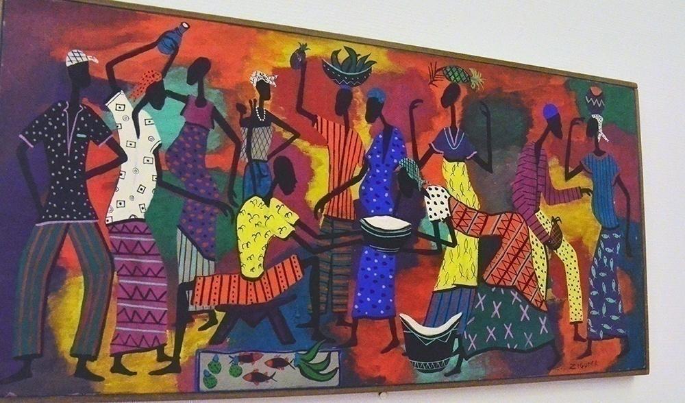 Множественный модернизм: (1905-1970) -  парижская ретроспектива ( 2 часть: Африка, Азия, Латинская Америка, США)