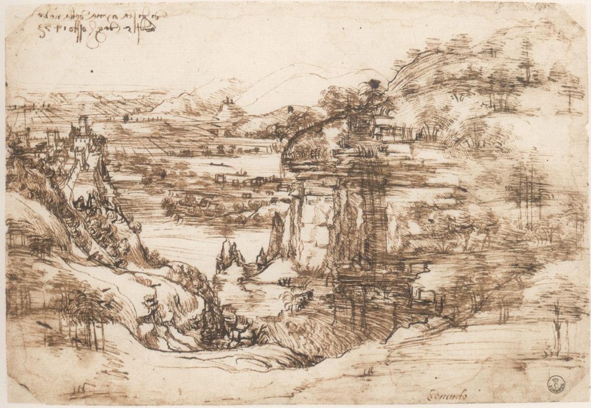 Scholars confirmed Da Vinci's ambidexterity