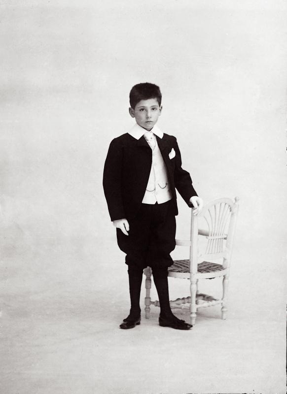 Ниссим де Камондо в возрасте 11 лет (1903 год)