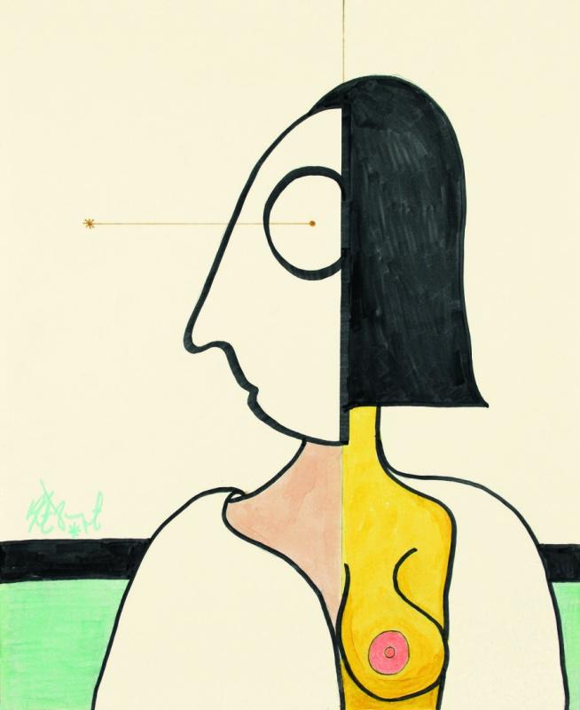 Воннегуты с планеты Тральфамадор: книга дочери-художницы с картинами писателя-отца
