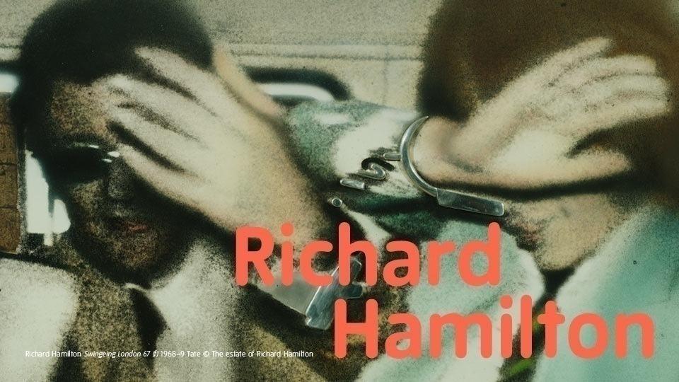 Ричард Гамильтон: большая и маленькая выставки в Лондоне