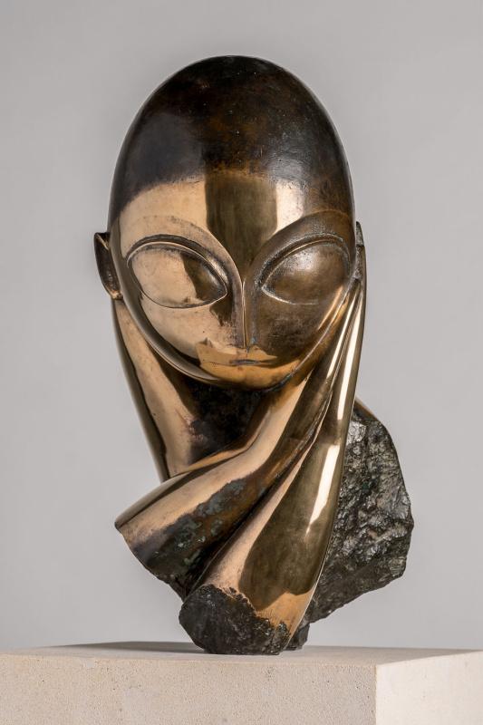 Константин Бранкузи, «Мадемуазель Погани I» (1913)