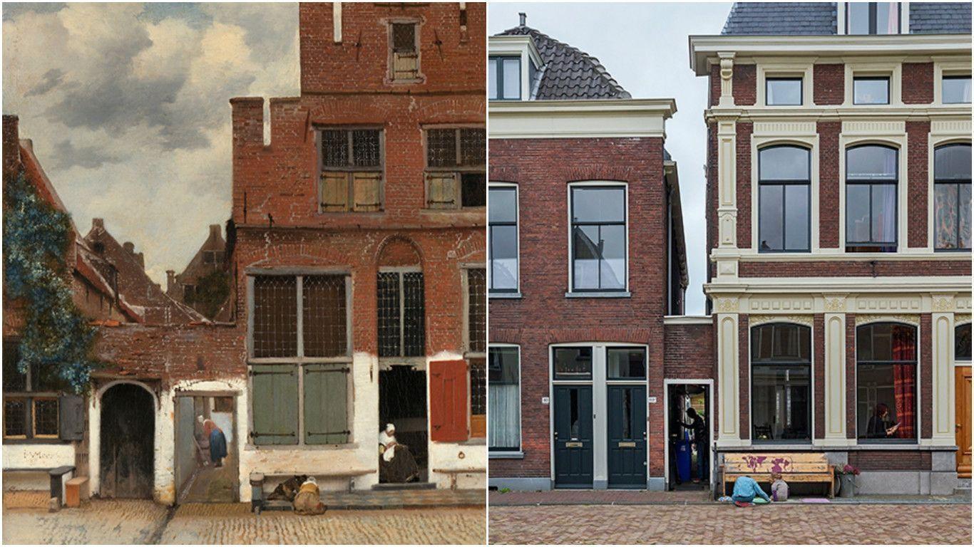 Профессор из Амстердама нашёл улицу, написанную Вермеером