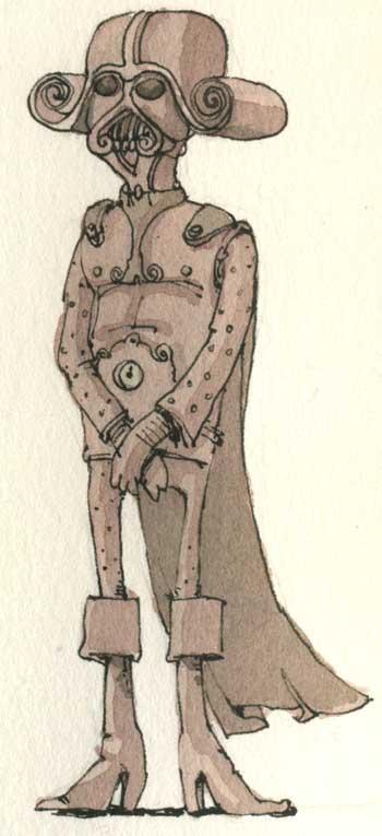 Самоучка с шариковой ручкой: шведский иллюстратор Маттиас Адольфссон  и его мир «в деталях»