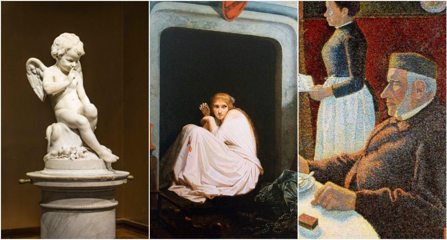 """Хиты сезона в музеях Европы: пуантилизм, романтизм и рококо - """"жемчужины"""" эпох и стилей"""