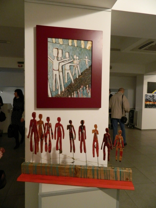Революционное искусство на выставке в Киеве: «Огонь любви. Посвящение Майдану»