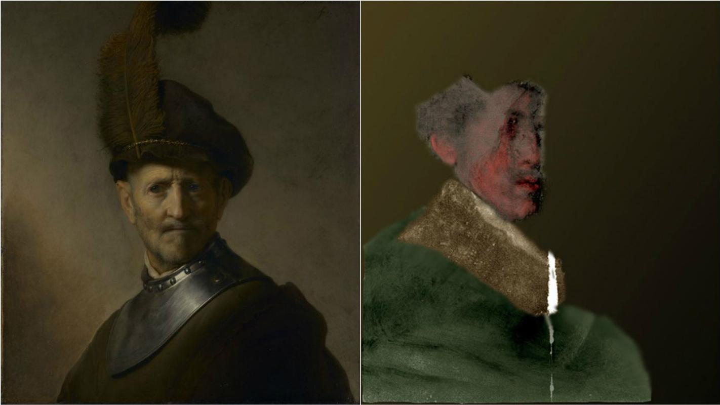 Учёные рассмотрели детали «изображения-призрака» на портрете кисти Рембрандта