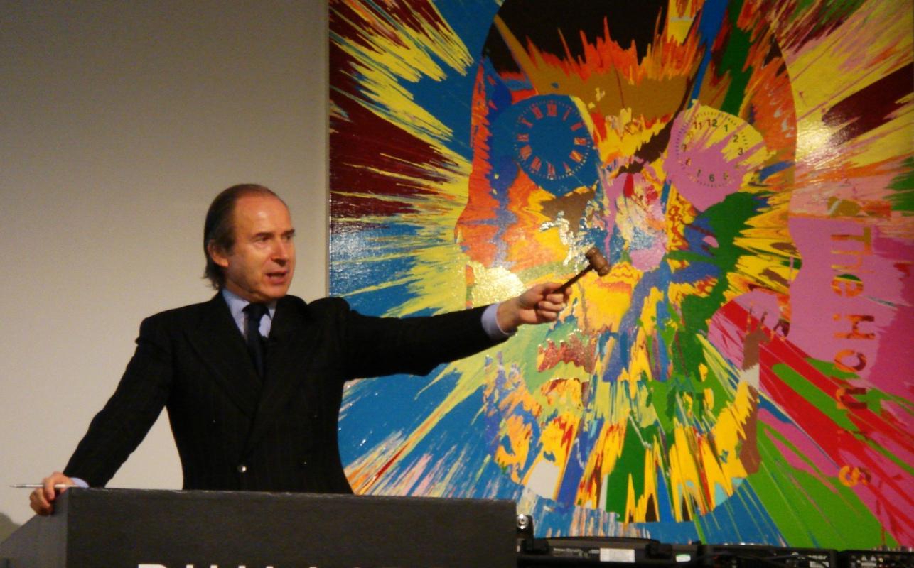 Легендарный аукционист де Пюри возвращается в бизнес: ставка на интернет