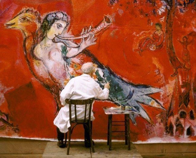 Триумф музыки: Парижская филармония чествует Марка Шагала