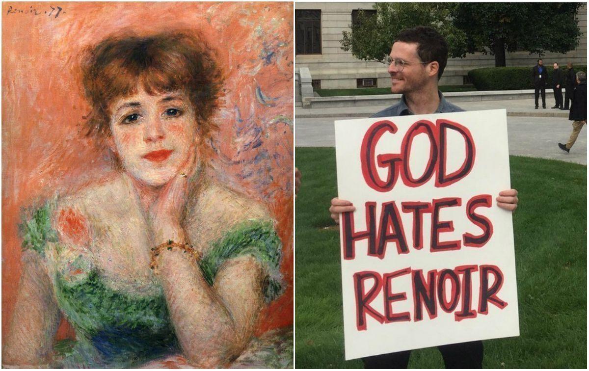Страсти по Ренуару: в реале и соцсетях схлестнулись поклонники и противники импрессиониста