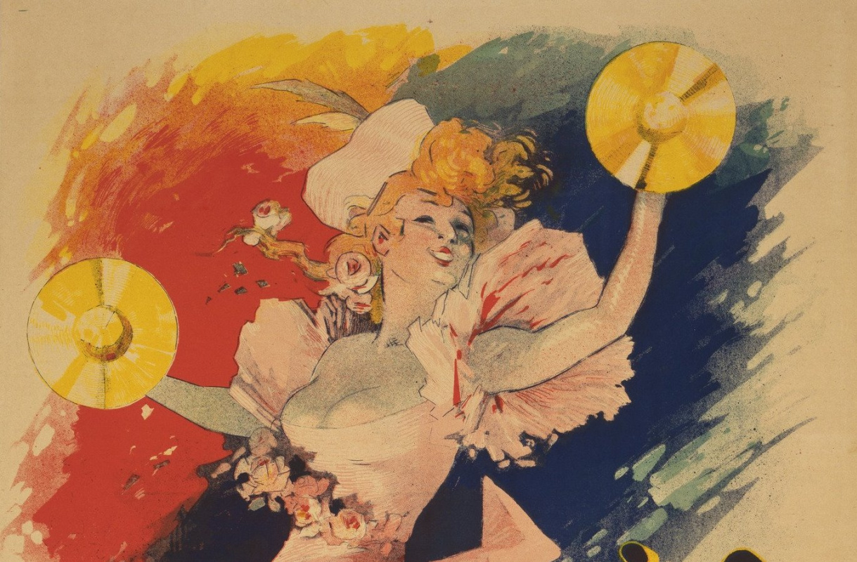 Более 500 работ мастера плакатов Прекрасной эпохи Жюля Шере получил музей в Милуоки