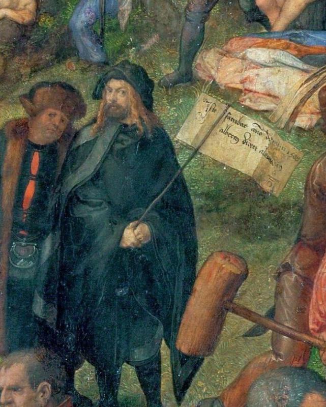 Dürer: evolution of artistic self in 13 self-portraits