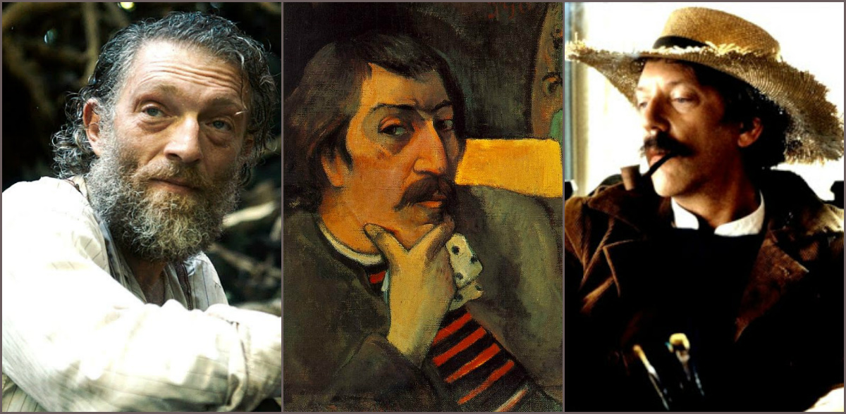 Gauguin in the movie: the Savage and the Eternal Sufferer