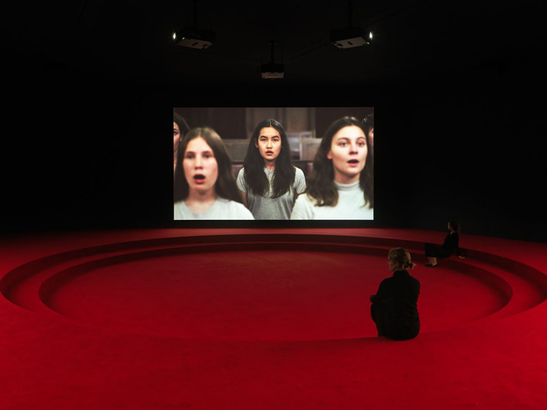 Анжелика Месити, павильон Австрии. Проект «Сборка» пропагандирует демократические ценности современн