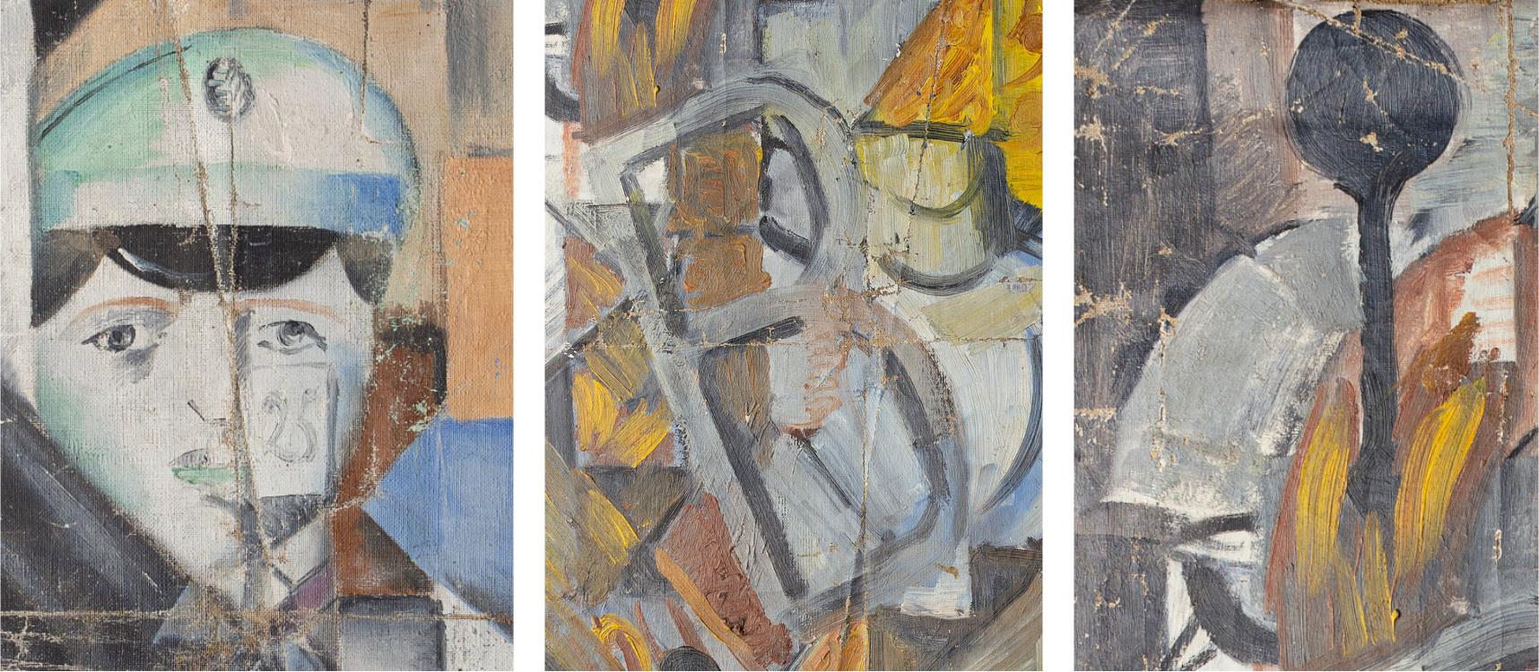 Картину сына Саврасова, известного авангардиста Алексея Моргунова, обнаружили при подготовке к выставке