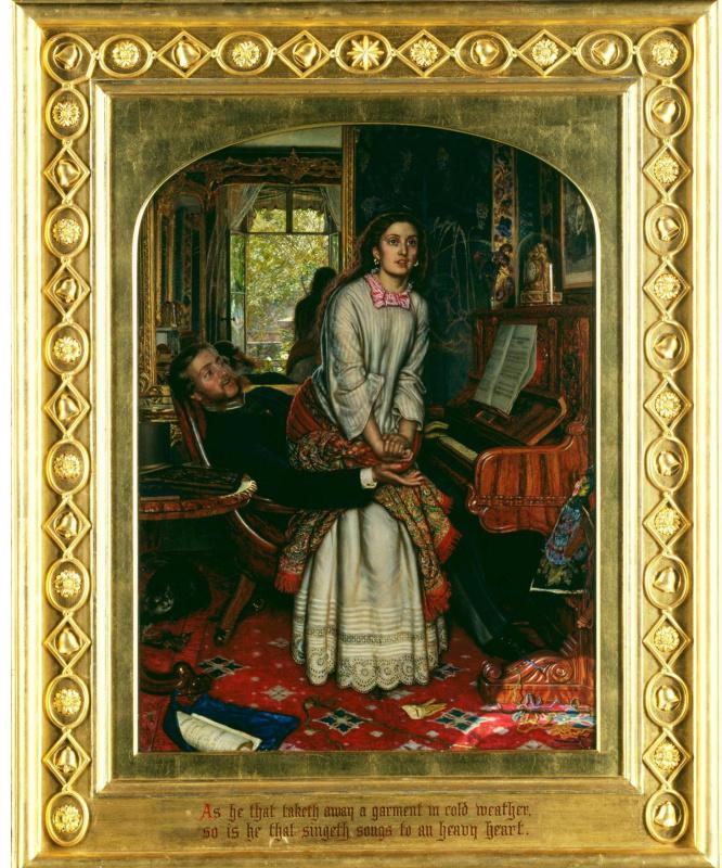 William Holman Hunt. The Awakening Conscience. 1853