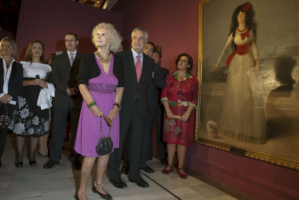 Истинные герцогини Альба уходят, оставляя сокровища: картины Гойи и не только