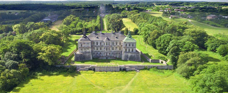Уникальный Подгорецкий замок стал доступен для онлайн-прогулок