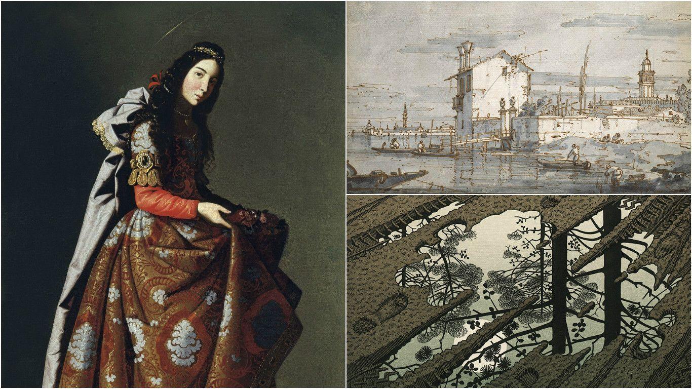 Две кочующие выставки и парадокс венецианских рисунков: арт-обзор недели