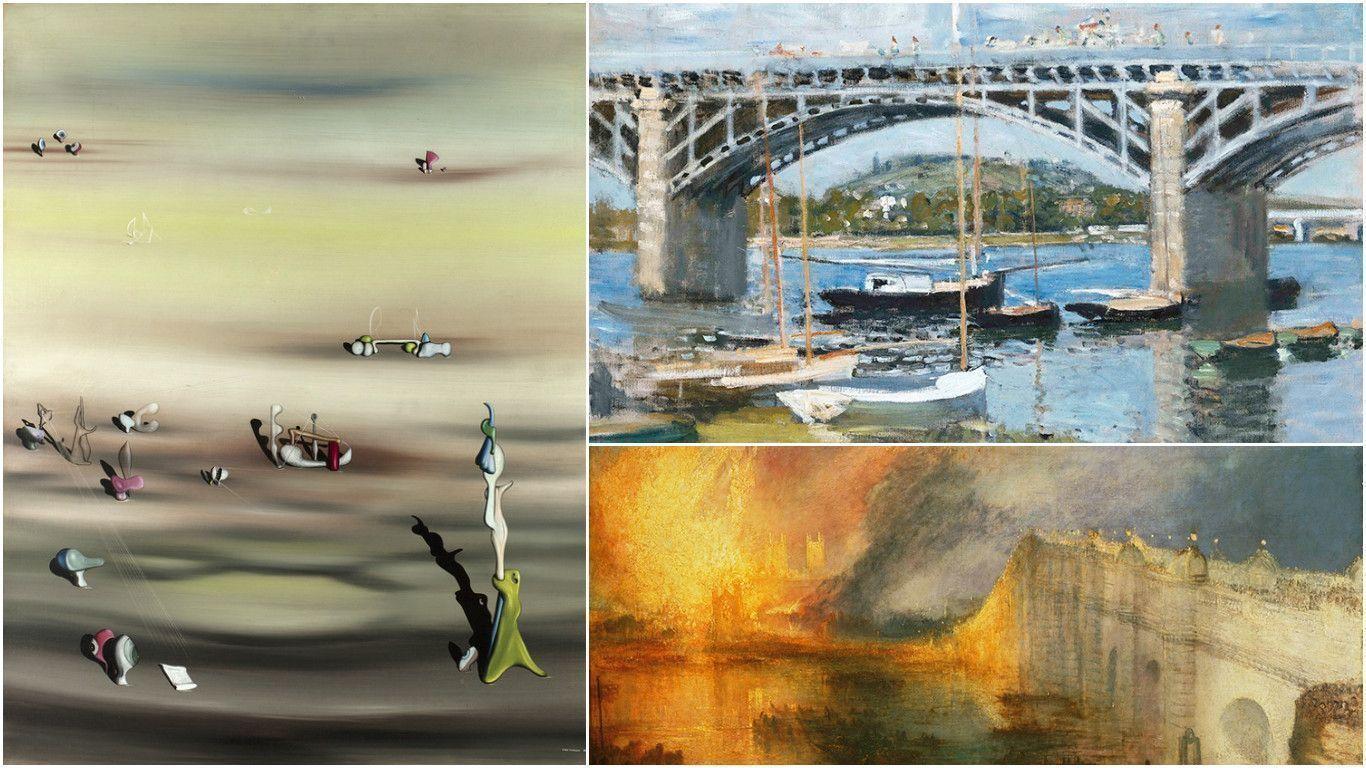 Тёрнер, Моне и сюрреалистические пейзажи выставлены в США и Канаде