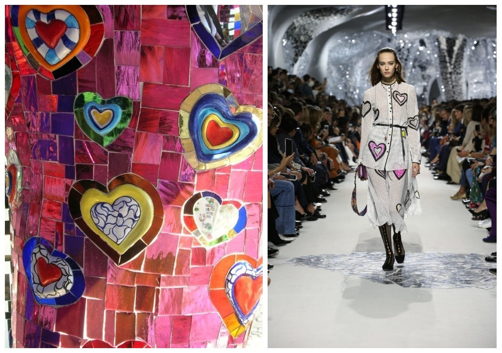 840020683ec0 Thereby she continued the dialogue between Dior and Niki de Saint Phalle