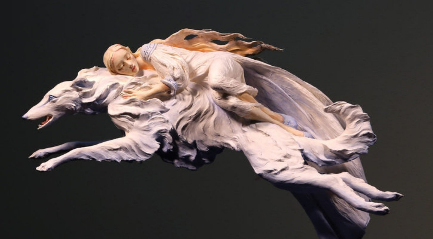 Химеры, гарпии и русалки. Мифологические скульптуры Форест Роджерс