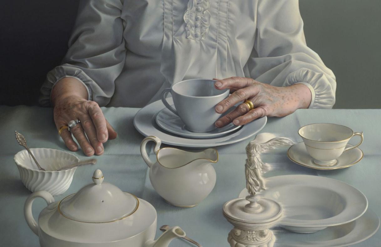 Что рисует художница Мириам Эскофет, написавшая портрет Елизаветы II