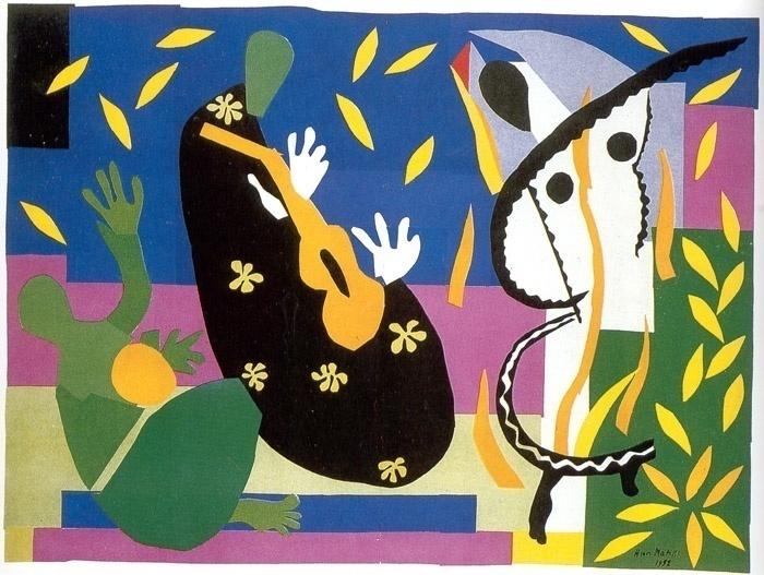Аппликации Матисса в Лондоне: цвет и форма решают все!