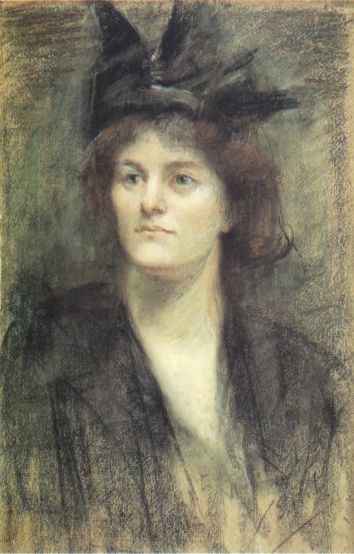 Сара Пёрсер. Портрет Мод Гонн. 1898