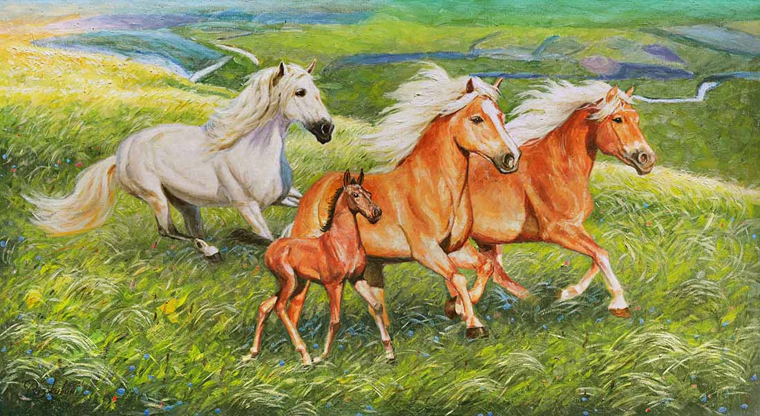 Igor Razzhivin. When the horses trampled the hobble...