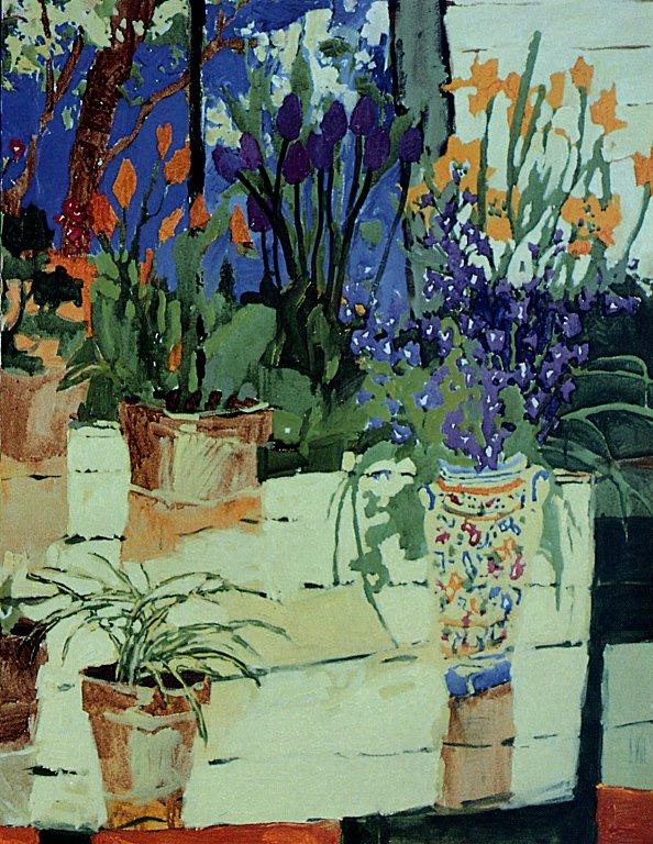 Клауд Симард. Тюльпаны весной