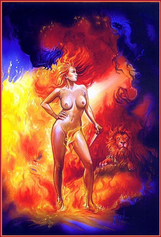 Иаиль. Огненная девушка