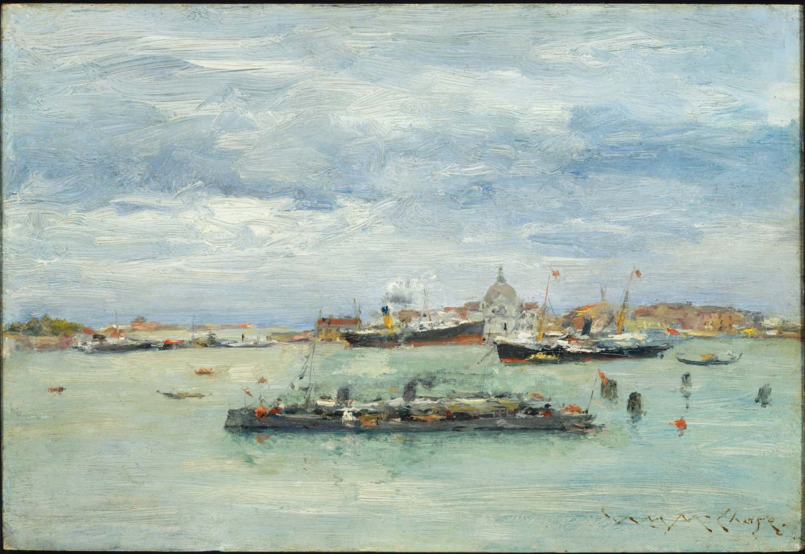 William Merritt Chase. Cloudy day in the Bay