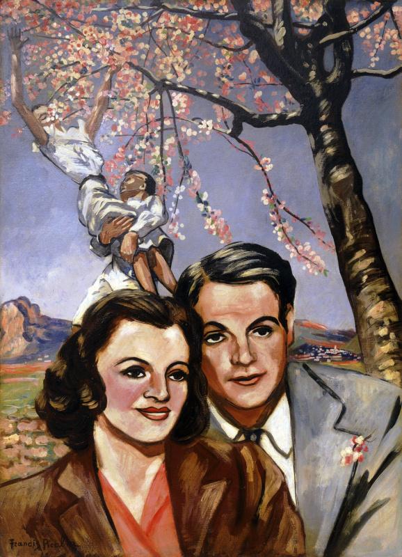 Франсис Пикабиа. Портрет пары (вишневое дерево)