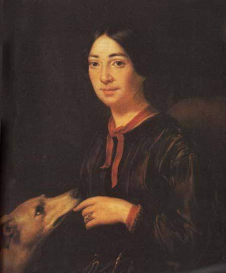 Портрет певицы Полины Виардо