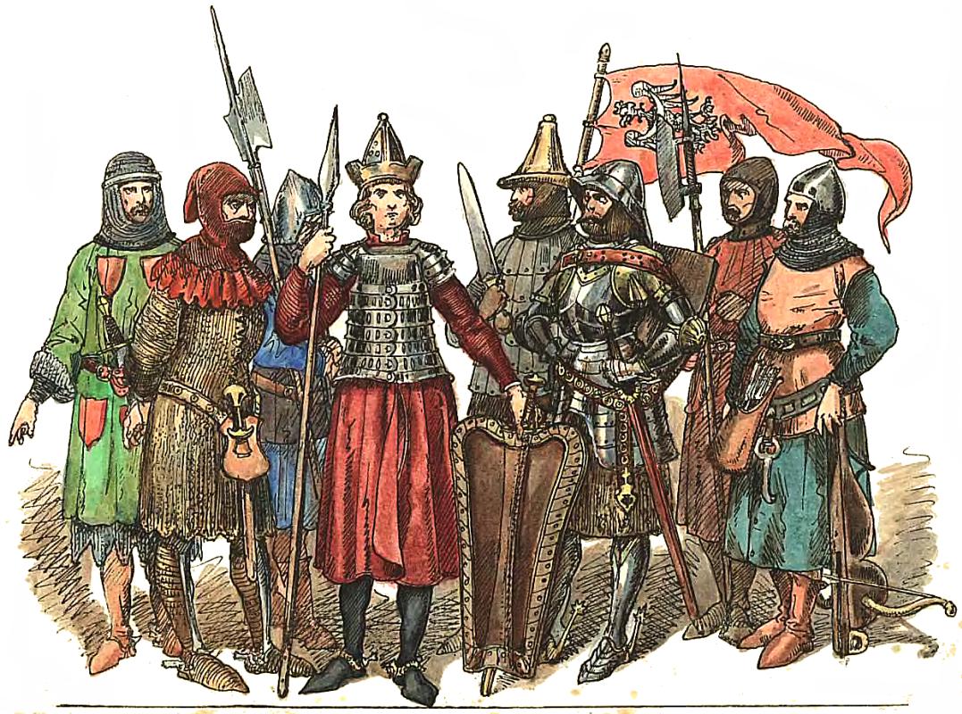 "Jan Matejko. Polish Knights 1333 - 1434. ""Polish Clothes, 1200 - 1795"""