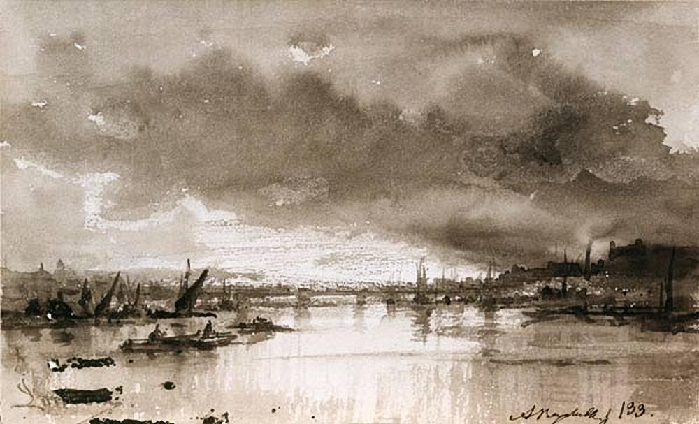 Alexey Petrovich Bogolyubov. Astrakhan