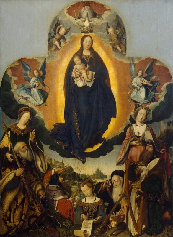 Ян Провост. Мария во славе
