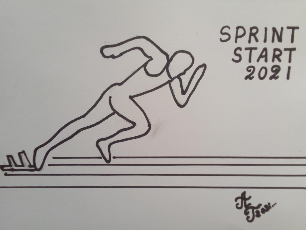 Alexey Grishankov (Alegri). Sprint Start 2021