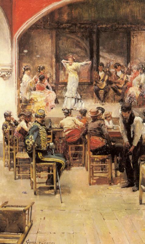 Хосе Гарсиа Рамос. Испанское кабаре