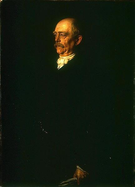 Франц фон Ленбаха. Портрет Отто Бисмарка