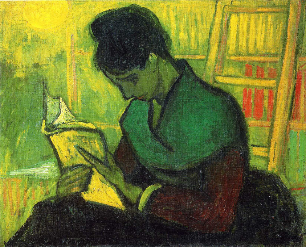 Vincent van Gogh. The reader of the novel