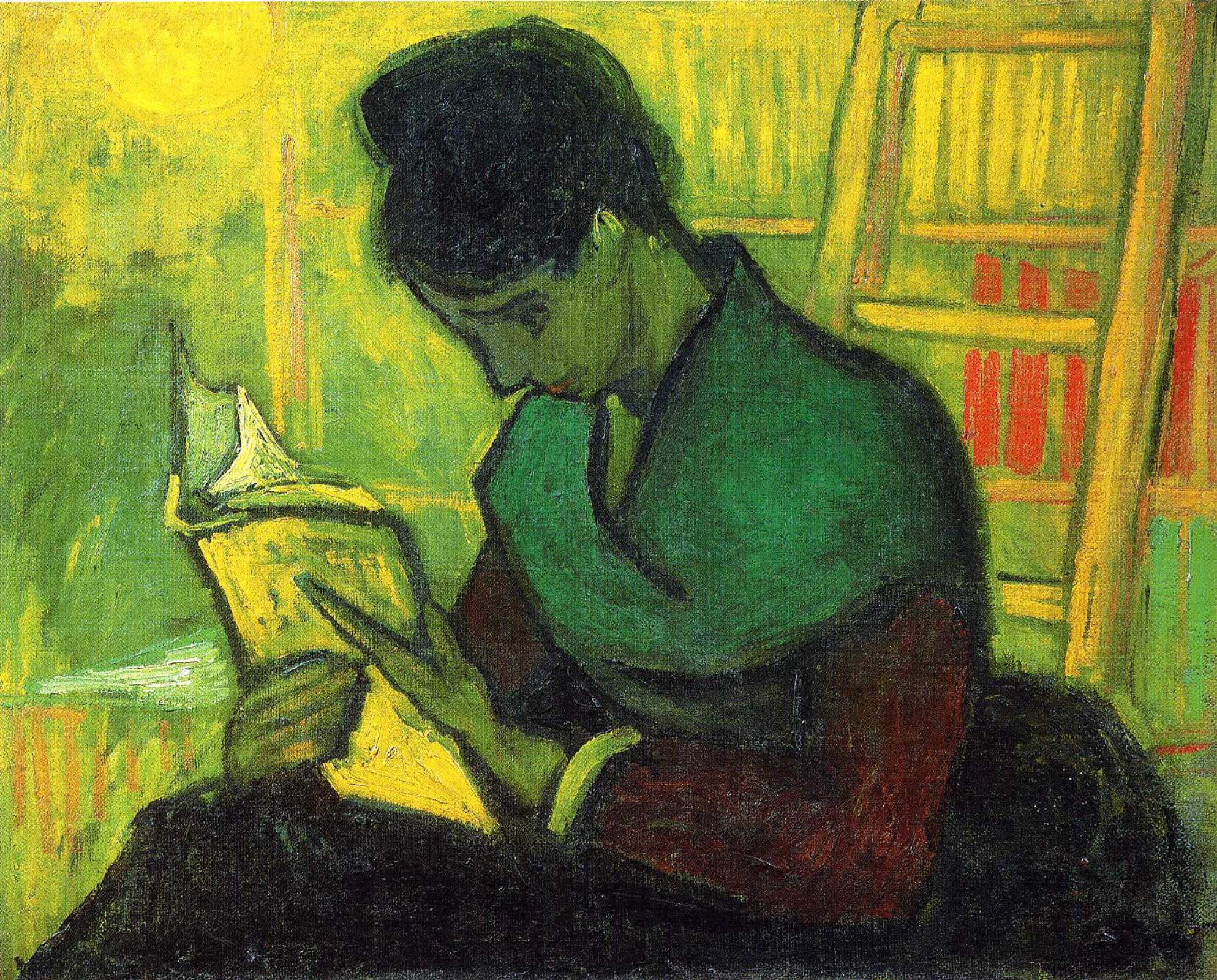 Vincent van Gogh. The reader of the novel